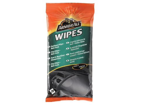 ArmorAllТЎ Dashboard Wipes Matt Pouch of 20