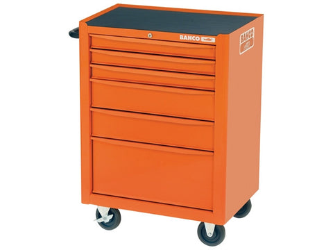 Bahco 1470K6 Tool Trolley 6 Drawer Orange