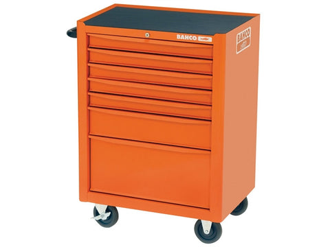 Bahco 1470K7 Tool Trolley 7 Drawer Orange