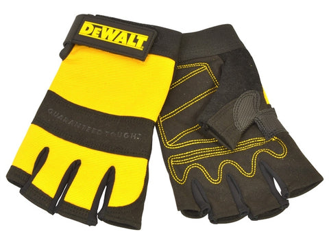 DeWalt1/2 Synthetic Padded Leather Palm Gloves