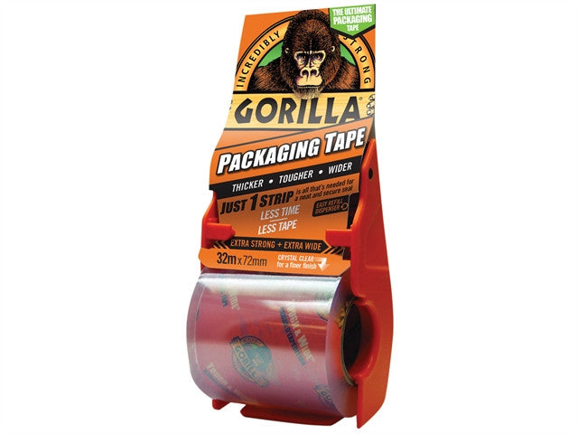 Gorilla Glue  Packaging Tape 32m x 72mm Dispenser
