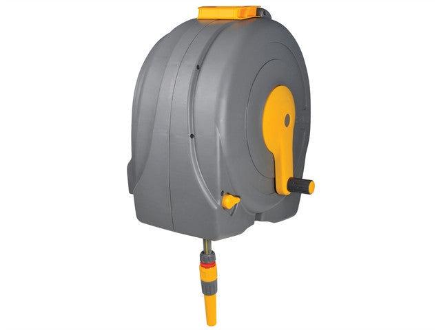 Hozelock 2496 Wall Mounted 40m Fast Reel + 40 Metres of 12.5mm Hose