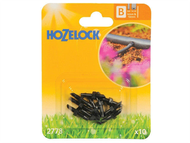 Hozelock Straight Connector 4mm (10 Pack)
