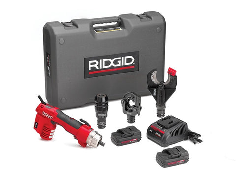 Ridgid 43633 RE 60 Electrical Tool Kit with 3 Heads 43633