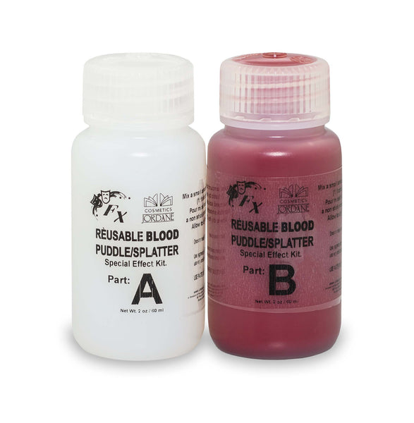 Blood Puddle/Splatter effect. ( 2oz kit will give you 4oz of product)