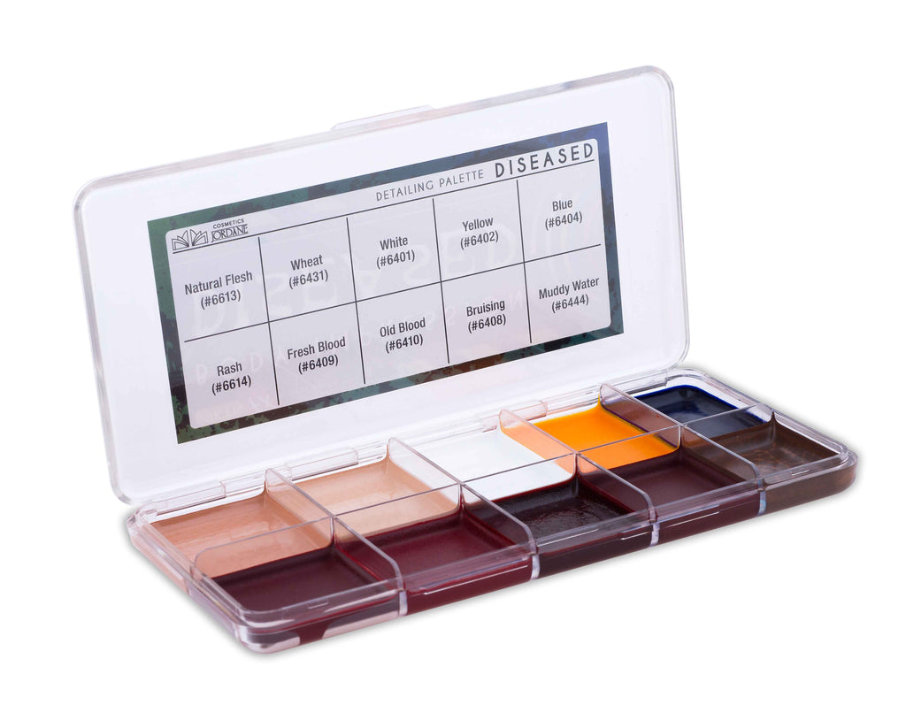 Diseased Alcohol Detailing Palette Body Impression
