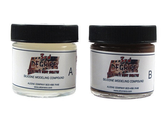 z - 3rd Degree Dark Tone Silicone Modeling Compound 2oz