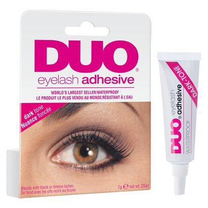 Duo Water Proof Eyelash Adhesive, Dark Tone - 0.25 Oz