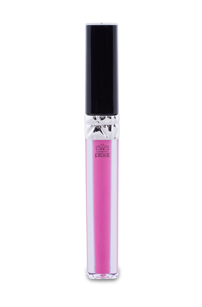 4512 Shocking Pink Liquid Lipstick - Black Shinny Cap