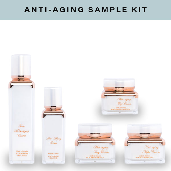 Skin Care Anti-Aging Sample Kit