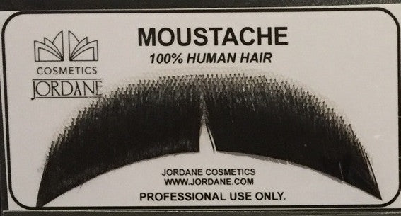 Jordane Moustache 100% real Hair