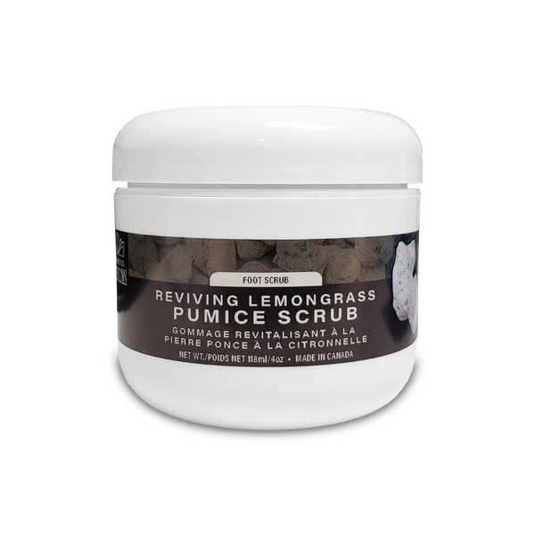 Reviving Lemongrass Pumice Foot Scrub