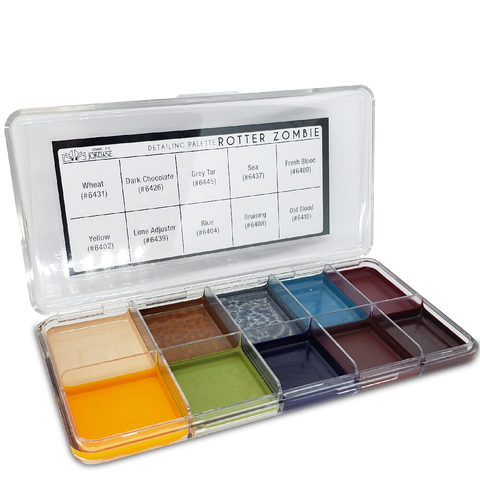 Rotter Zombie Alcohol Detailing Palette Body Impression