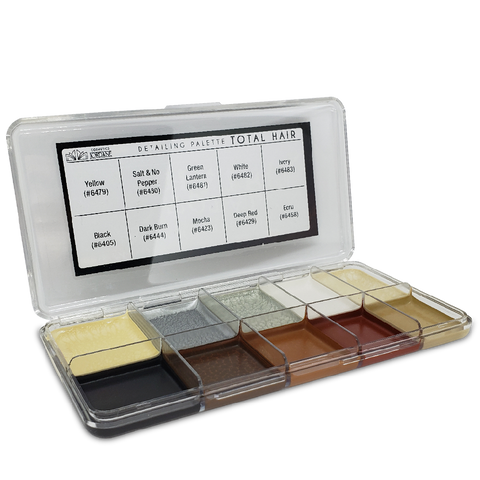 Total Hair Alcohol Detailing Palette Body Impression