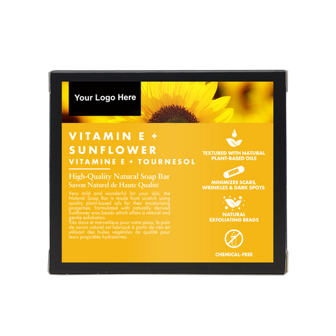 Vitamin E Sunflower - Natural Soap