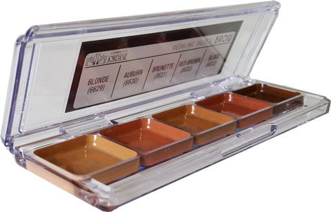 BROW  Alcohol Detailing Palette Body Impression (5 Cavity)