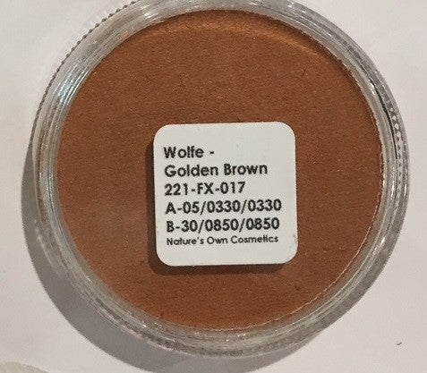 Wolfe Face Paint Golden Brown