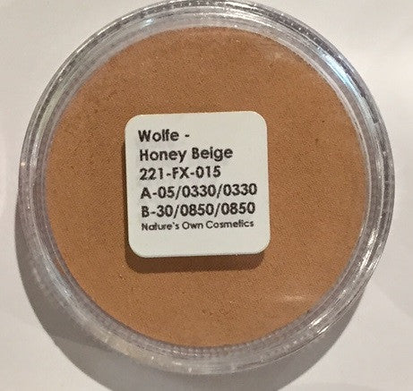 Wolfe Face Paint Honey Beige