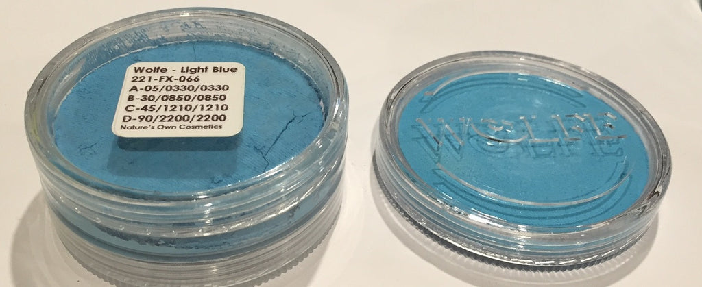 Wolfe Face Paint Light Blue