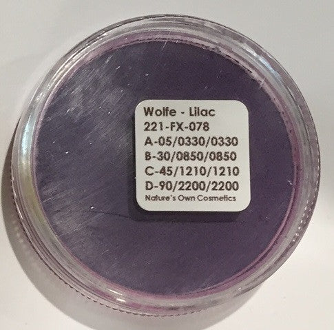Wolfe Face Paint Lilac