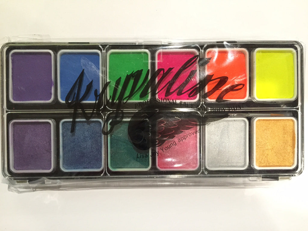 Neon/Metallix Palette 12 Colour