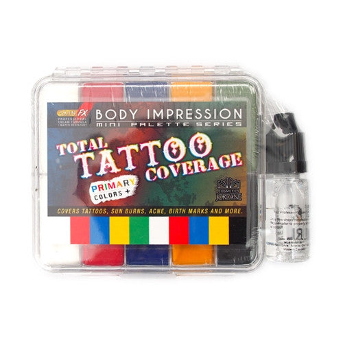 Total Tattoo Coverage Primary Colors Mini