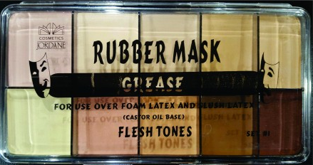 Rubber Mask Grease - Flesh Tone