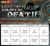 Shades of Death Alcohol Detailing Palette Body Impression