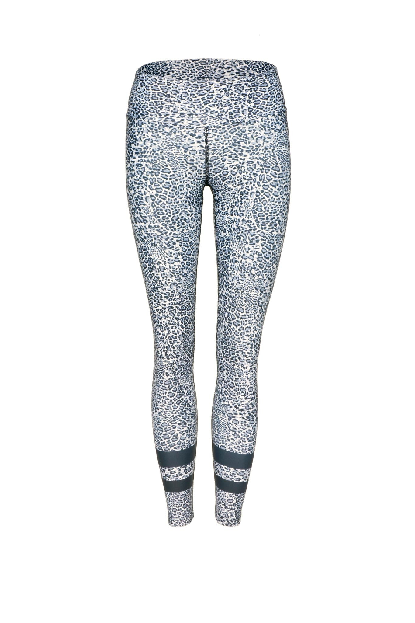 High-Waist 7/8 Leggings in Snow Leopard