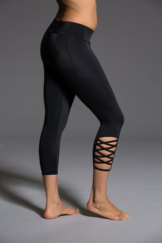 High Rise Bondage Legging
