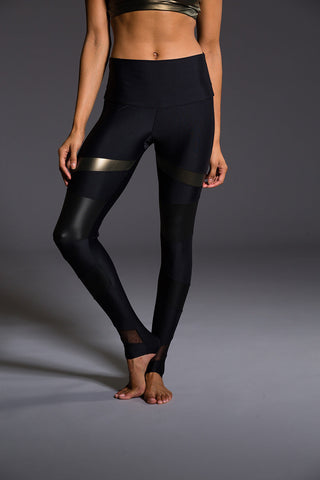 High-Waist Ripped Warrior in Anthracite