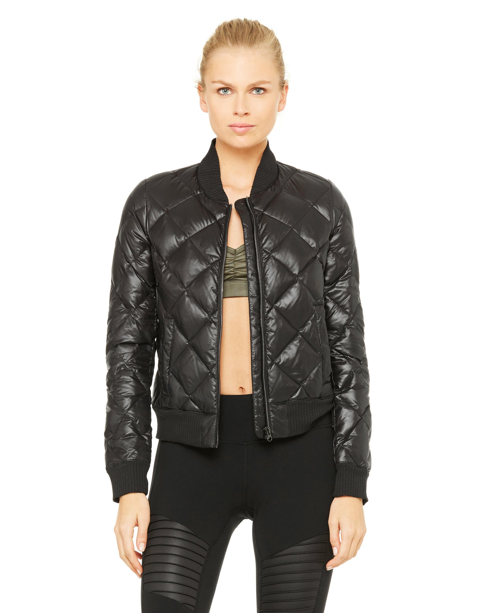 Idol Bomber Jacket in Black