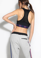 Zone Defense Mesh Crop - AMAIA - 2