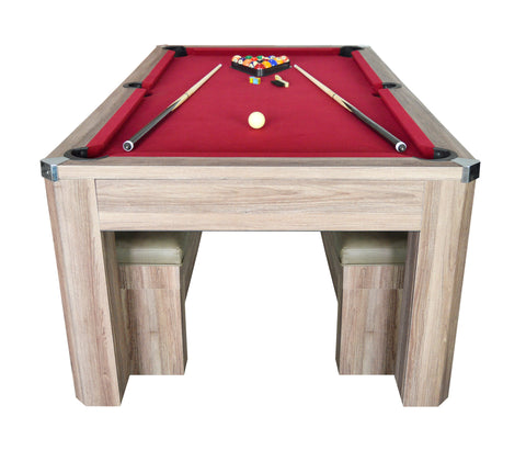 Carmelli Newport Ft PoolTennis Table NGP Combo Set Rectable - Carmelli pool table