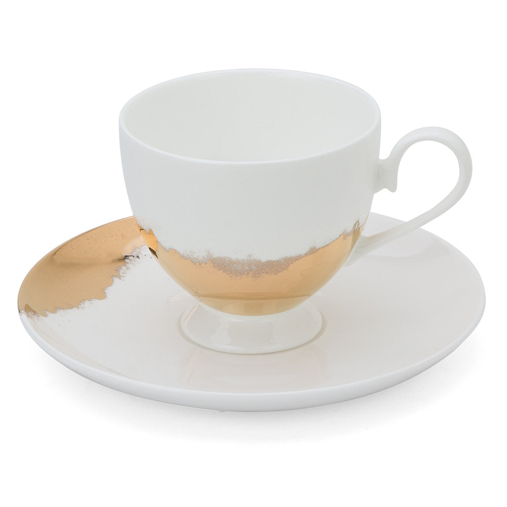 Good As Gold Teacup and Saucer - Special offer