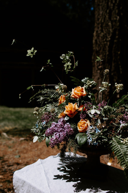 Foraged Wedding