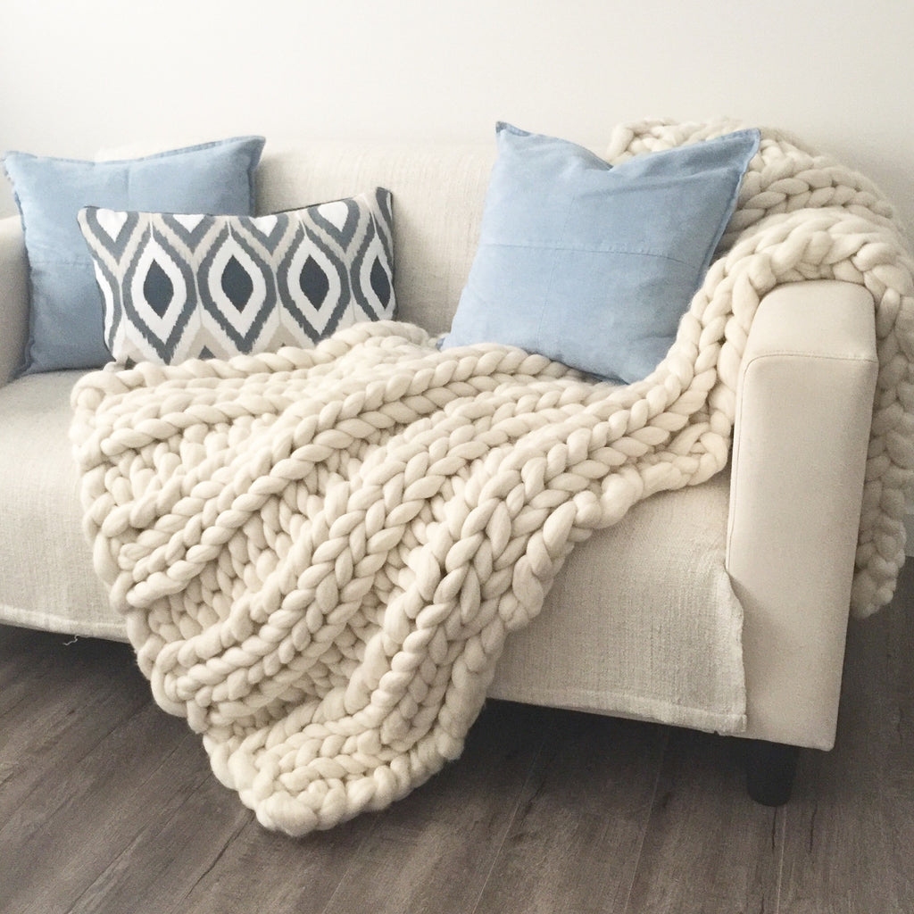 Chunky Throw - Queen