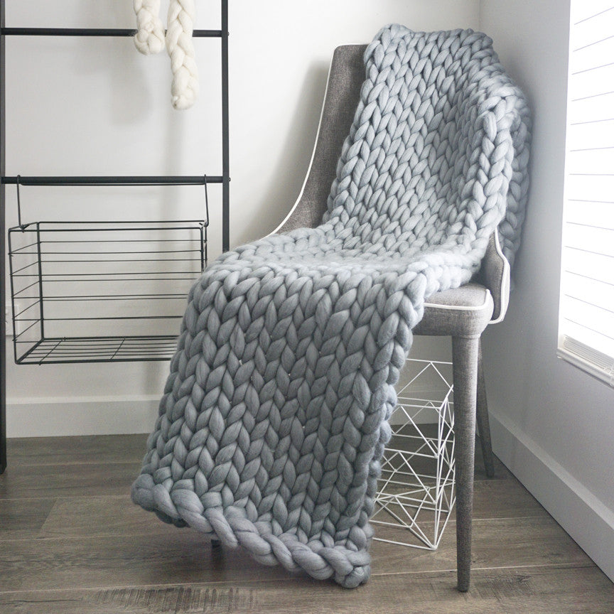Chunky Knit Bed Runner - King
