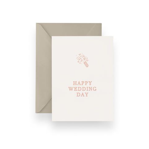 Sparkler Wedding Card