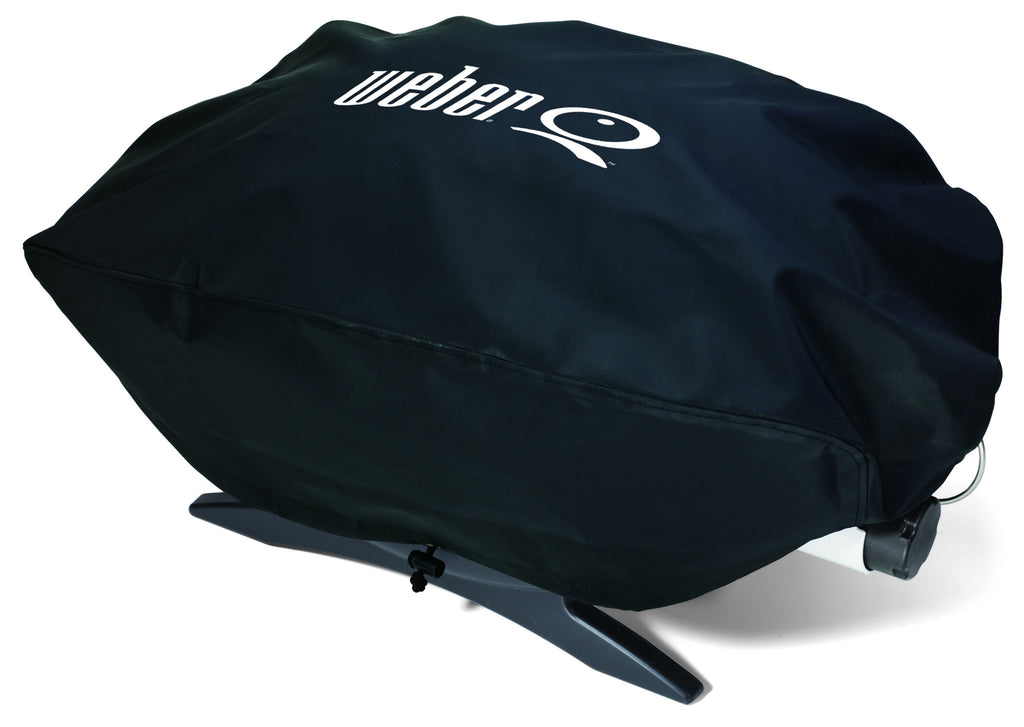 Weber Q Gas Grill Vinyl Cover - Baby, 100, 120