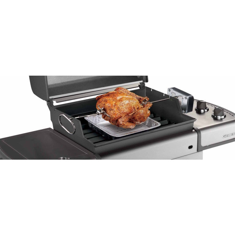 Weber Gas Grill Rotisserie Fits Genesis E and S Series Grills 7519