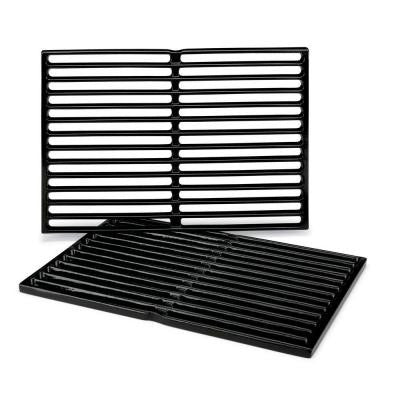 Weber Gas Grill Porcelain Enameled Cast Iron Cooking Grates 7522