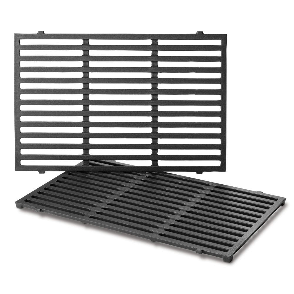 Weber Gas Grill Porcelain Enameled Cast Iron Cooking Grates 7638