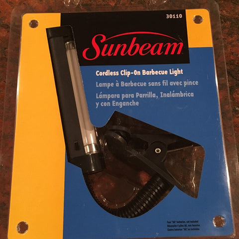 Sunbeam Cordless Clip-On BBQ Grill Light