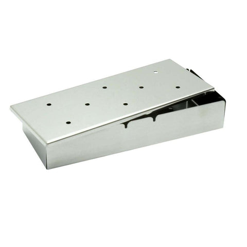 Stainless Steel Smoker Box with Lid