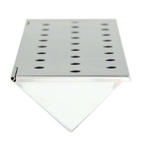 "Stainless Steel Smoker Box 6"" Long"