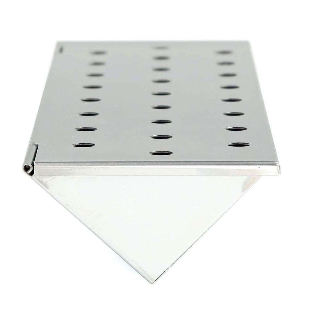"Stainless Steel Smoker Box 13 3/4"" Long"