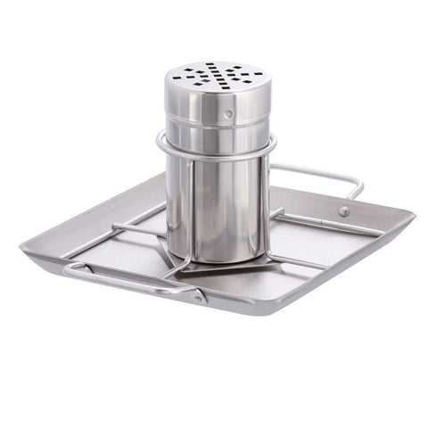 Stainless Steel Beer Can Chicken Roaster w/Drip Pan