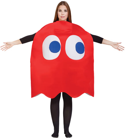 Adult Blinky Ghost Costume - Pac Man