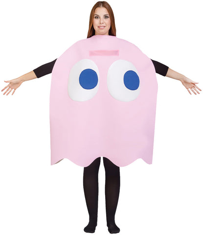 Adult Pinky Costume - Pac Man